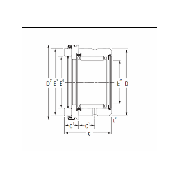 Timken RAX 520 Complex Bearing