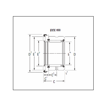 KOYO RAX 435 Complex Bearing