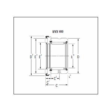 KOYO RAX 450 Complex Bearing