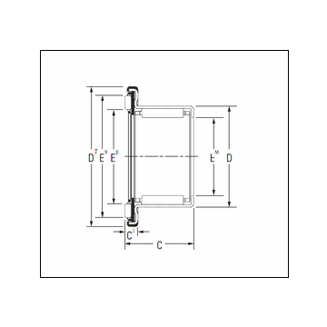 KOYO RAX 712 Complex Bearing