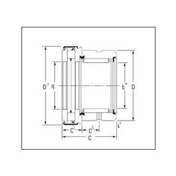 KOYO RAXZ 570 Complex Bearing