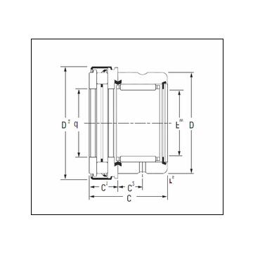 Timken RAXZ 510 Complex Bearing