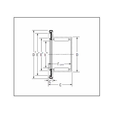 KOYO RAXF 714 Complex Bearing
