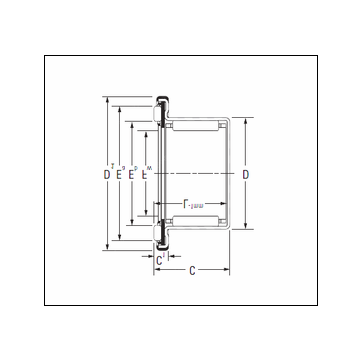 KOYO RAXF 730 Complex Bearing