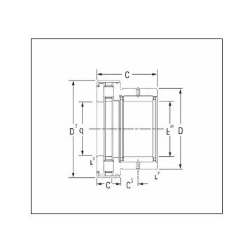 KOYO NAXR25Z.TN Complex Bearing