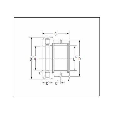 KOYO NAXR25TN Complex Bearing