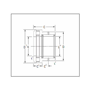 KOYO NAXR40 Complex Bearing