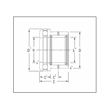 KOYO NAXK20 Complex Bearing