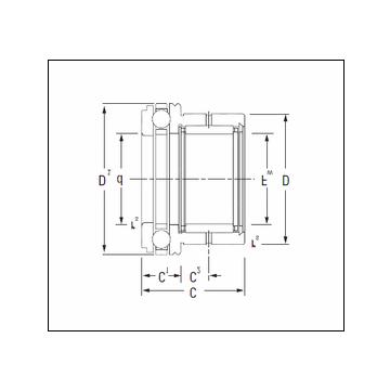 KOYO NAXK30 Complex Bearing