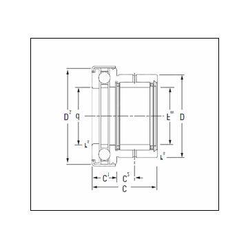 KOYO NAXK35Z Complex Bearing